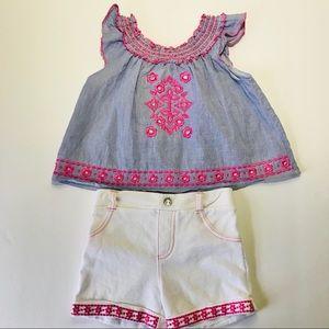 Little Lass Toddler Girls Summer Outfit Size 3T